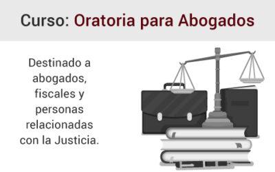 Curso de Oratoria para abogados